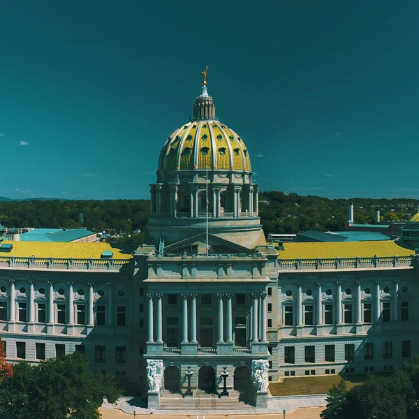 Harrisburg Pennsylvania Capital Building