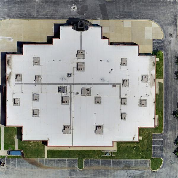 Roof orthomosaic