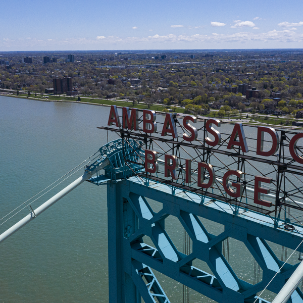 Ambassador Bridge, Detroit MI