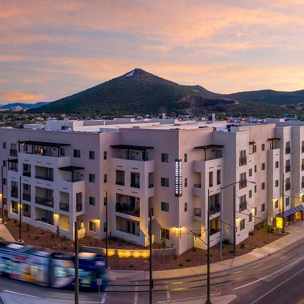 Commercial Building Twilight Shot