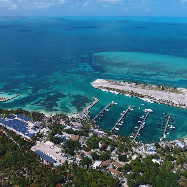Island Marina Shot