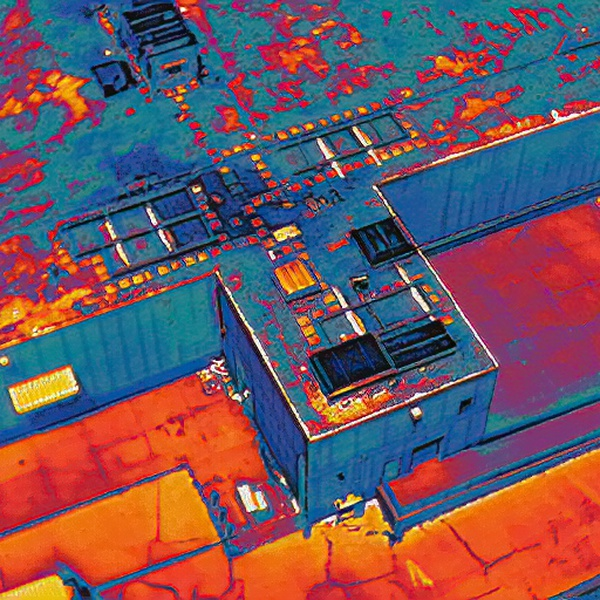 Roof Inspection - Radiometric Thermal Imaging