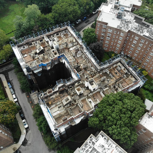 Roof Inspection after fire - Insurance Inspection