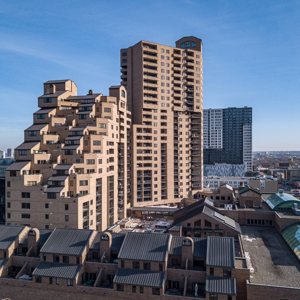 Condo Tower Twin Cities Real Estate Drone Photography
