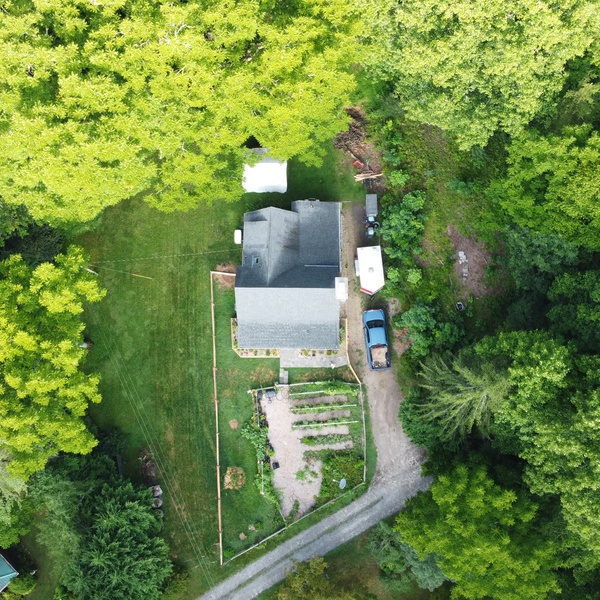 100ft Overhead Home View