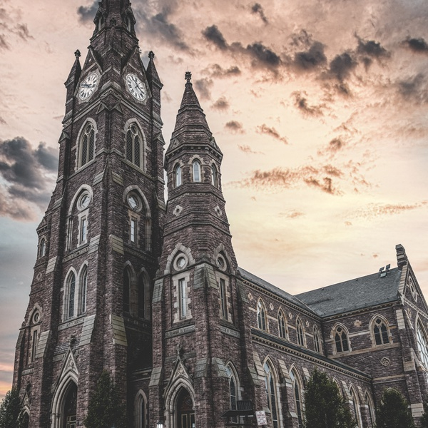 St Peter's Cathedral in Erie, PA.