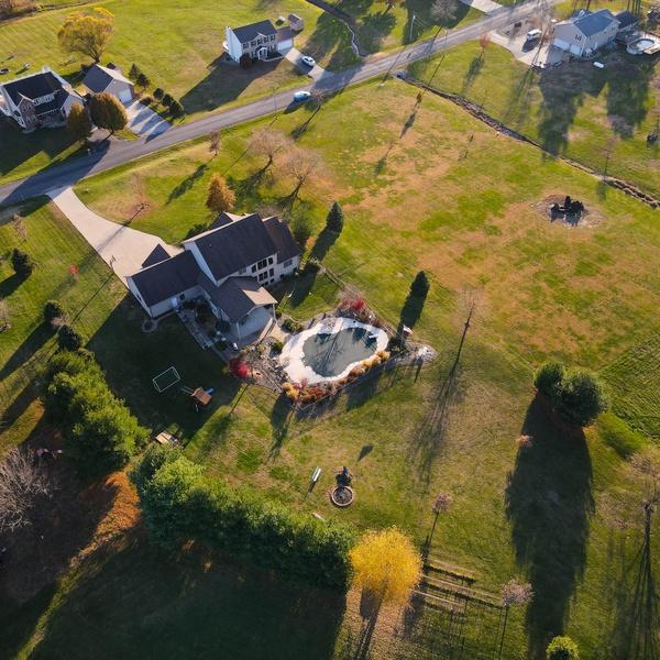 Real estate full property shot