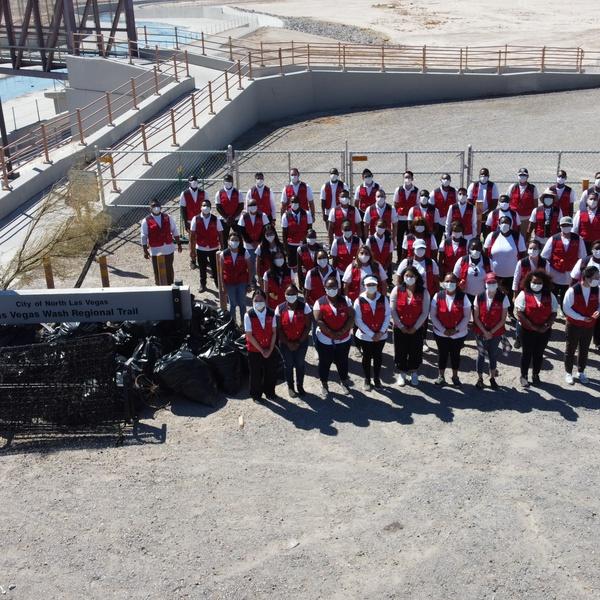 Las Vegas Wash Trail Clean Up