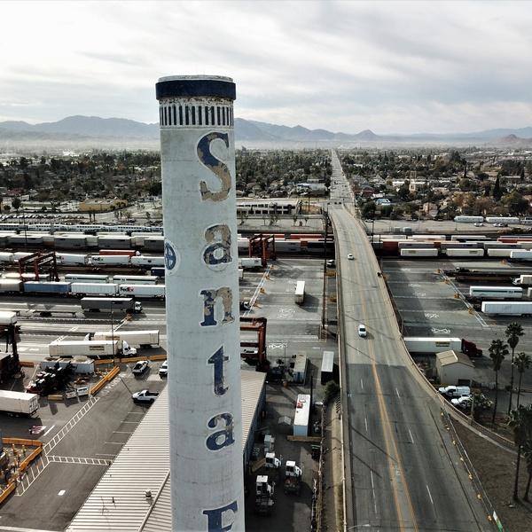 City of San Bernardino Railyard