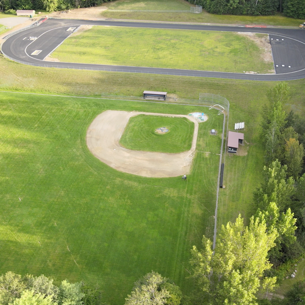 Baseball field in upstate NY