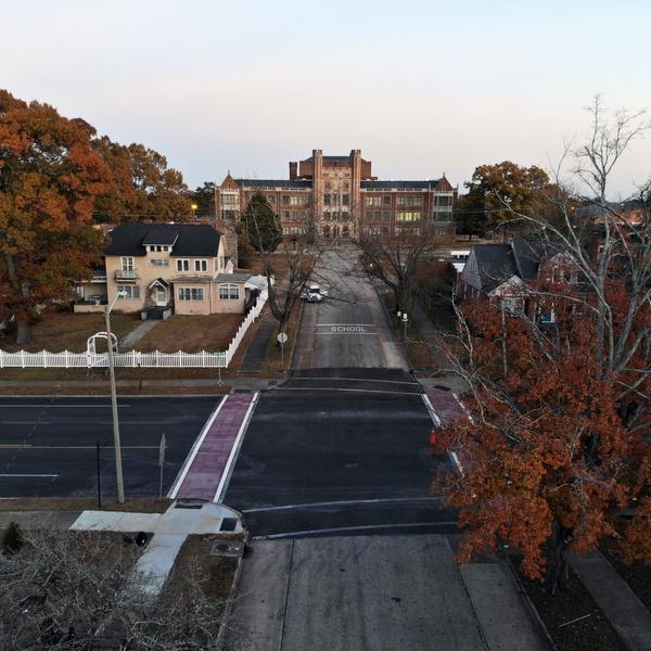 Roanoke Rapids:  Crosswalks