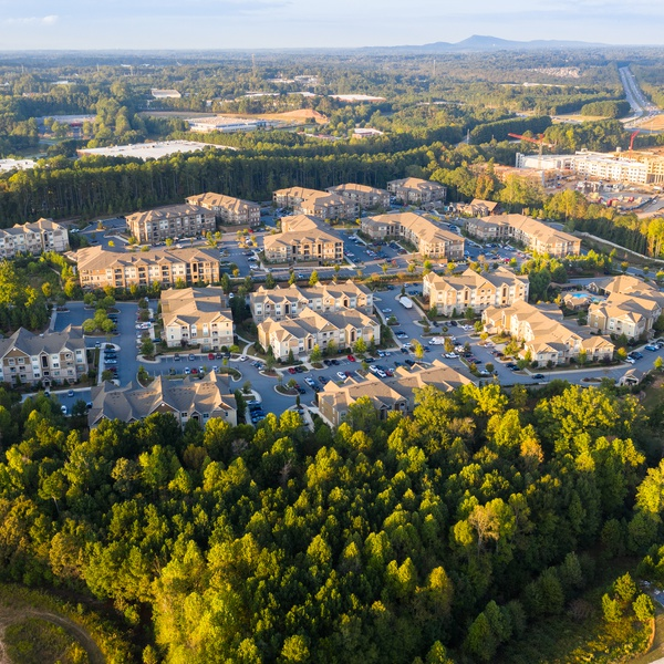 Typical Atlanta suburban Neigborhood