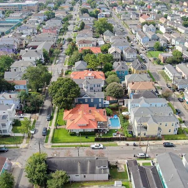View of area around where I live