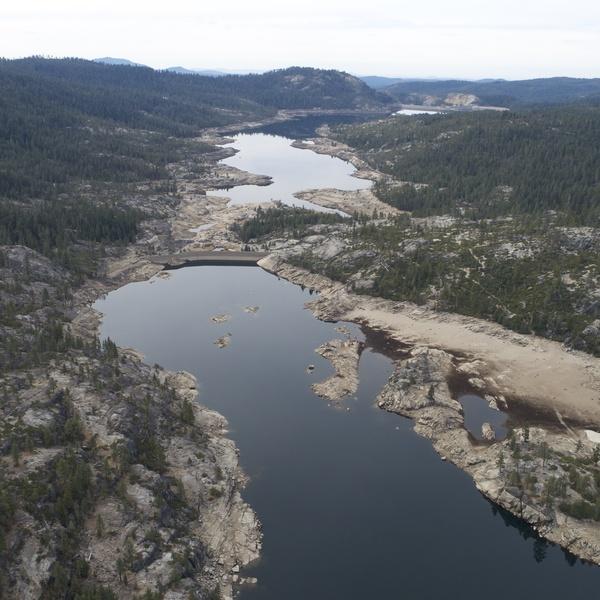 Aerial Photo Bear Creek Reservoir