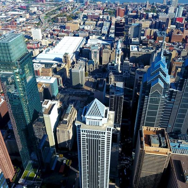 The Philadelphia Skyline (West Side)