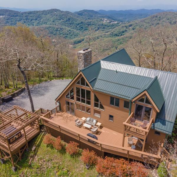 Mountain Paradise Aerial Photo
