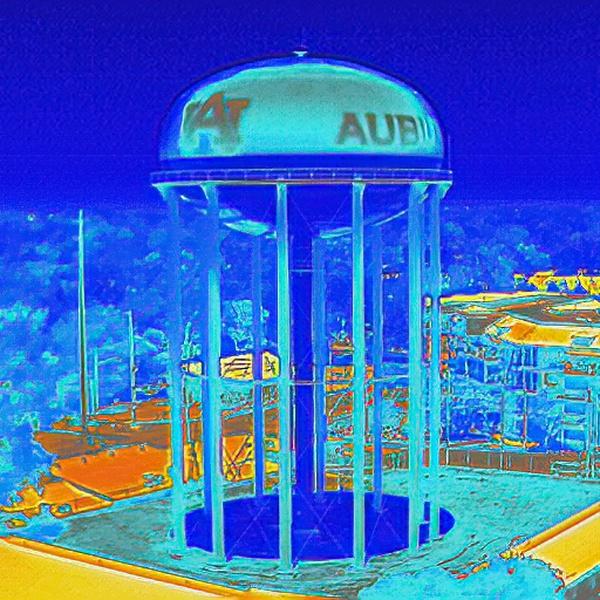 Auburn University Water Tower - Radiometric Thermal Imaging