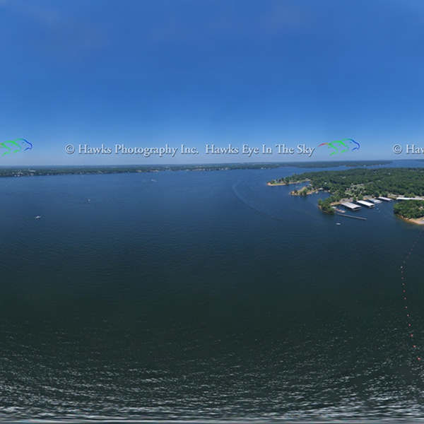 Grand Lake Pensacola Dam 360 pano