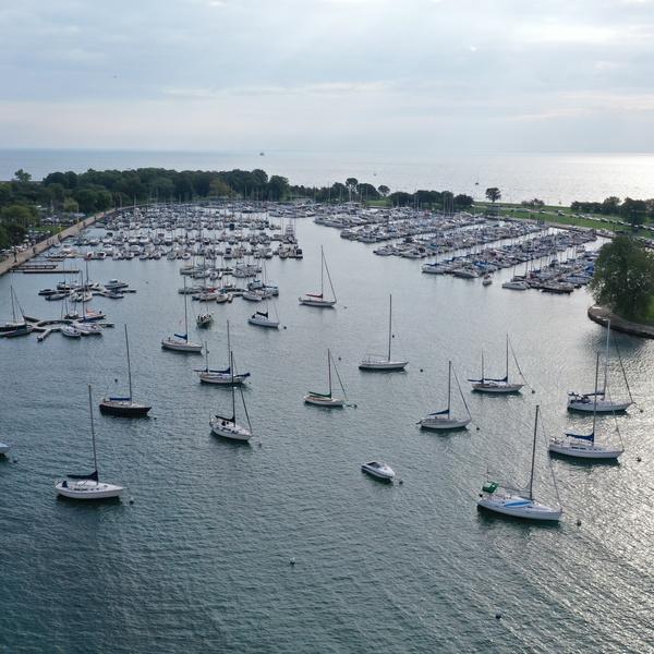 Montrose Harbor View