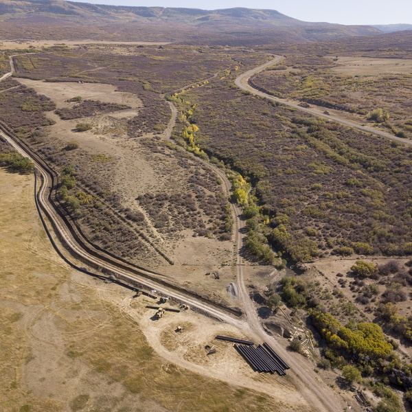 Irrigation Pipeline Construction, Crawford, Colorado