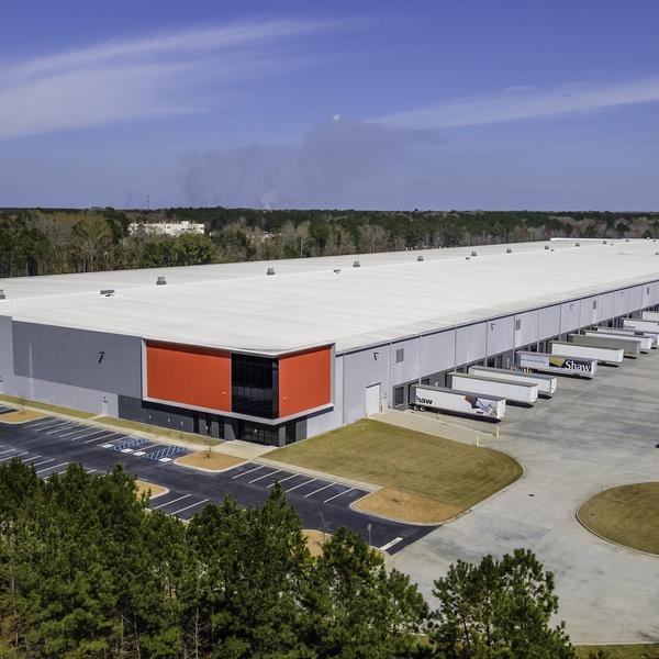 Distribution Center - Aerial Property Shoot