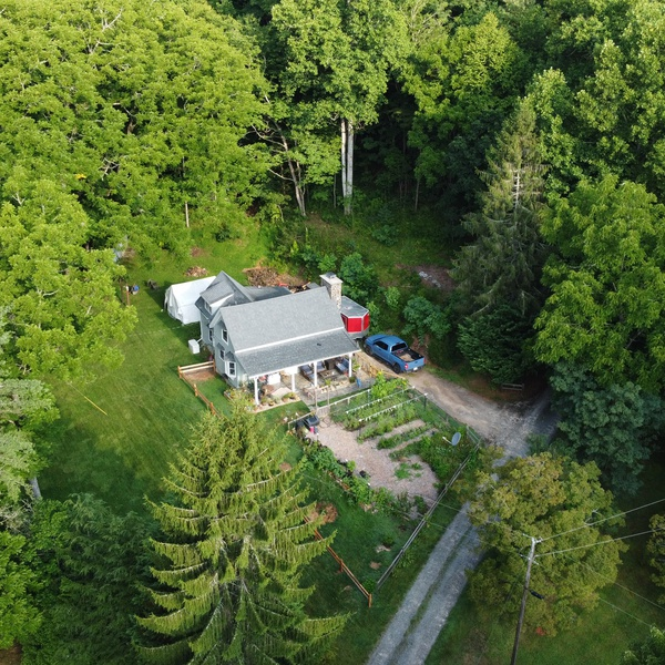 100' South View of Home