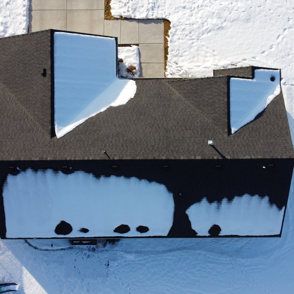 Snowy Home, Roof