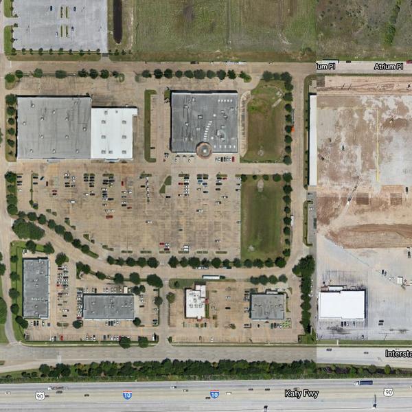 Orthomosaic Map - Shopping Center - Katy TX