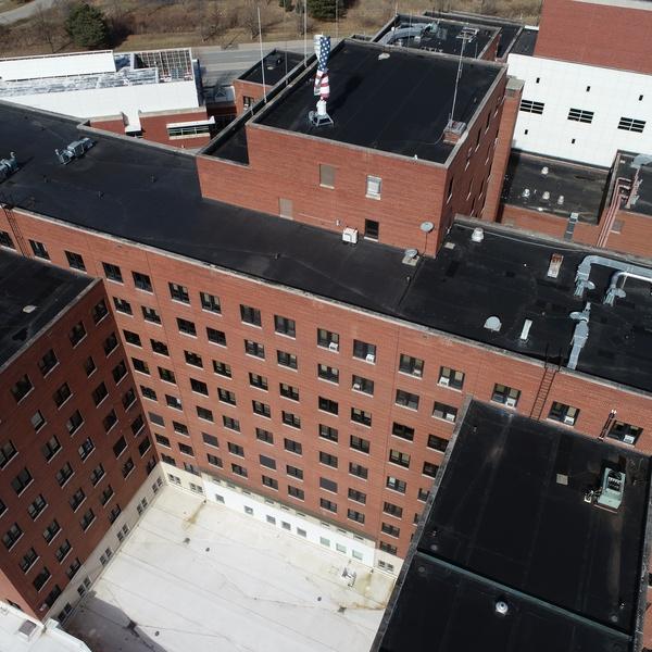 Michigan VA Hospital, Roofing and Façade Inspection