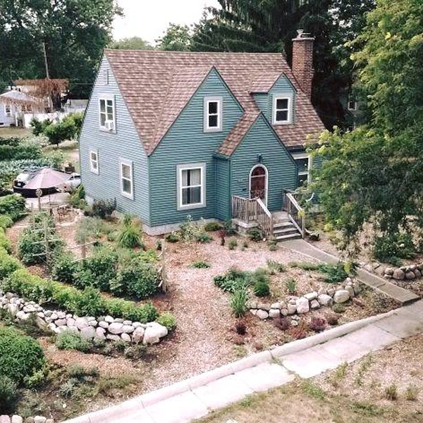 Garden Landscaping and House