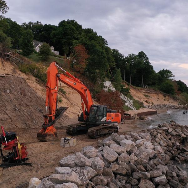 Seawall Construction