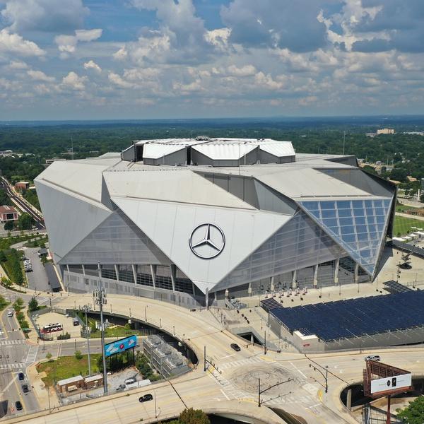 Mercedes Benz Stadium Atlanta Geargia