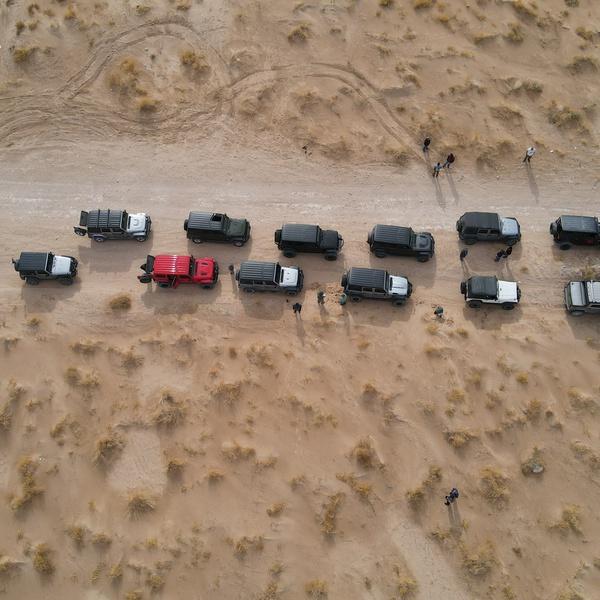 Desert Jeep trip