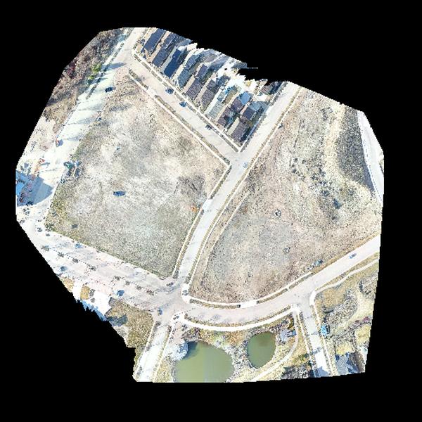 Orthomosaic Imagery and Construction Progress/Planning Imagery