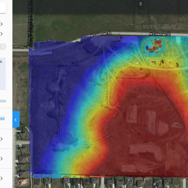 Aerial Elevation Analysis