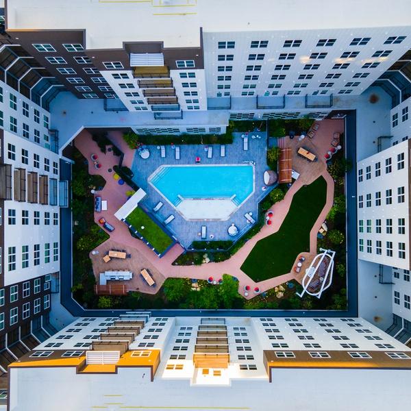 Apartments Courtyard