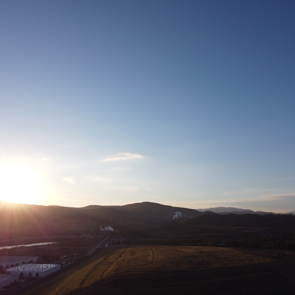 Sunrise in Corona, CA