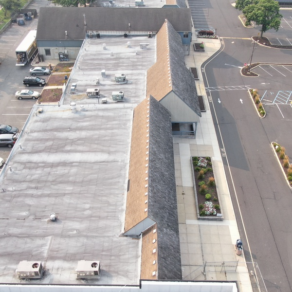 Shopping Center Roof Inspection