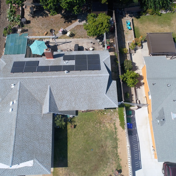 Finished roof (w/solar install)