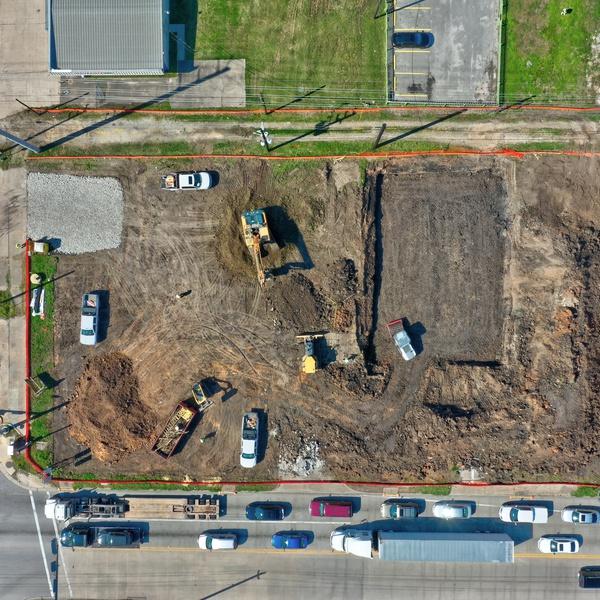 Construction image from Rosenberg TX