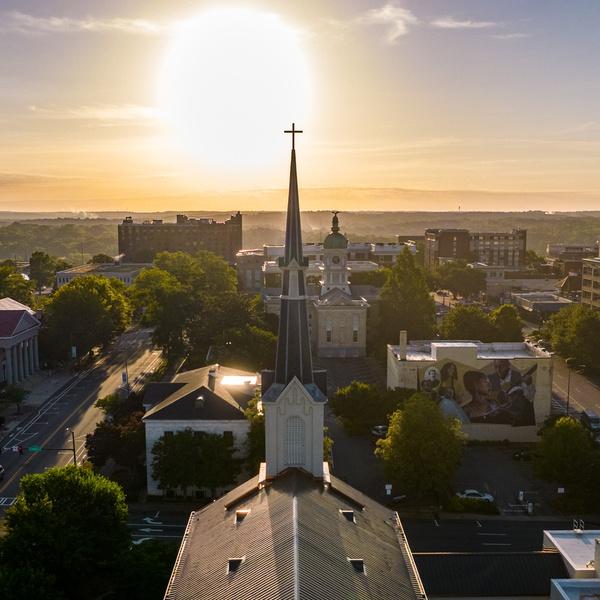 Church Sunrise