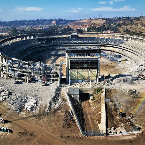 """The Murph"" Stadium Demolition"