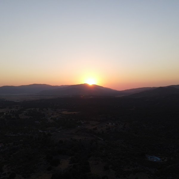Mount Palomar Sunset