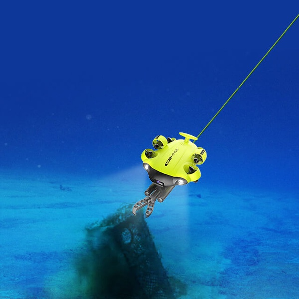Underwater Drone Inspections and Recovery Services