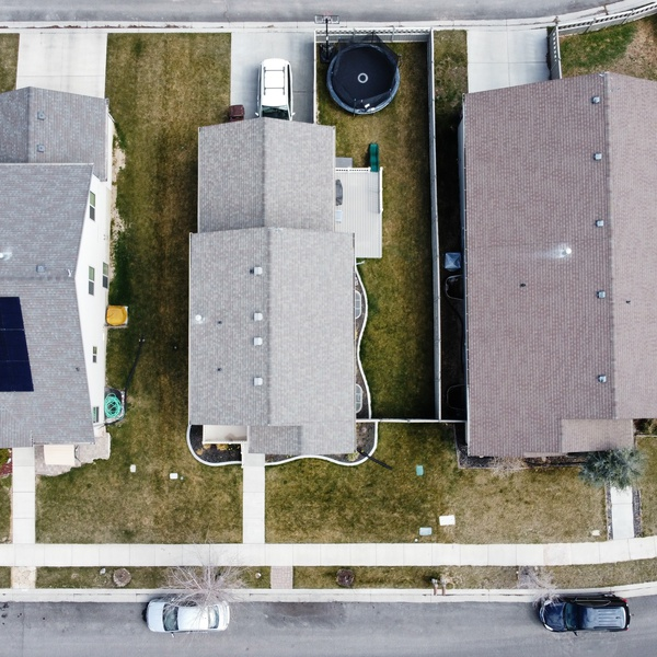 Overhead of West Utah County Two-Story