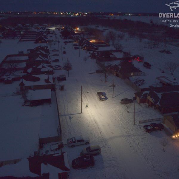 Snowvid Night Time Shot