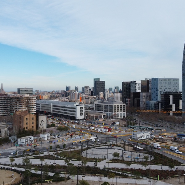 Construction Views Barcelona