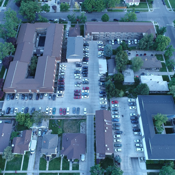 Aerial inventory of the Union Square Property