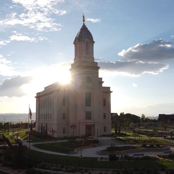 LDS cedar city temple
