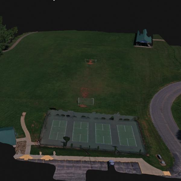 Orthomosaic Map - Recreational Park Soccer Field